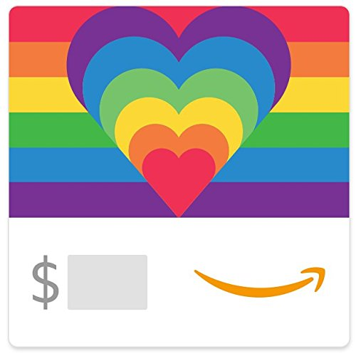 Amazon Gift Card - Rainbow Hearts