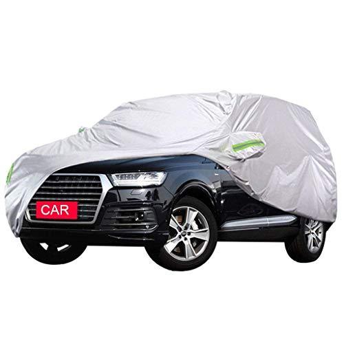 Fundas para coche Compatible Con Audi Q7 Cubierta Del Automóvil Protección UV A Prueba De VientoTranspirable Resistente Al Polvo Impermeable Todo Clima Cubierta Para Automóvil Funda Exterior Del Coche
