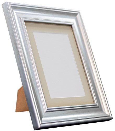 Frames By Post Scandi Vintage fotolijst Lichtgrijze houder A3 Image Size A4 zilver