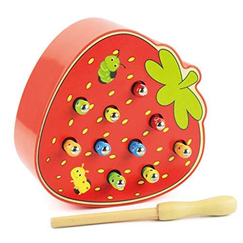 BENGKUI Baby Catching Games, 1200 Stück DIY Slime Soft Fruit Slices Fingernagelzubehör Super Light Clay Zubehör Cremekleber Material Spielzeug für Kinder Geschenk Erdbeere