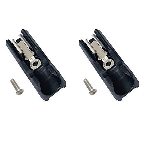 SKCMOX Replacement 2pcs Bit Holder with Screws for 20V Max Drill Impact Driver DCD771 DCD980 DCD985 DCD980 DCD985 DCD980L2 DCD985L2 (2packs)