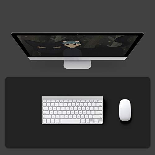 KFRSQ Alfombrilla de escritorio grande, alfombrilla de ratón impermeable, alfombrilla de escritorio de piel sintética, antideslizante multifunción para oficina y hogar
