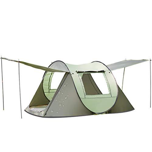 Tente de Camping 1-2 Personnes Tente Instantanée Pop Up Ouverture Rapide Tente Dôme Imperméable...