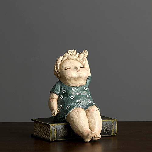 Statues Sculpture Figurines Statuettes,Kreative Harz Schöne Blaue Dicke Frauen Puppe Bild Kunst Figur Skulptur Sammlerstücke, Schmuck Desktop Handwerk Kunst Dekor Statuetten Für Innen Wohnzimmer