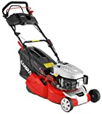 Cobra RM40SPCE 40cm (16in) Petrol Lawnmower with Roller for a striped lawn, Electric push button start, <span class='highlight'>self</span> <span class='highlight'>propelled</span> drive powered by a DG450 OHV <span class='highlight'>engine</span>