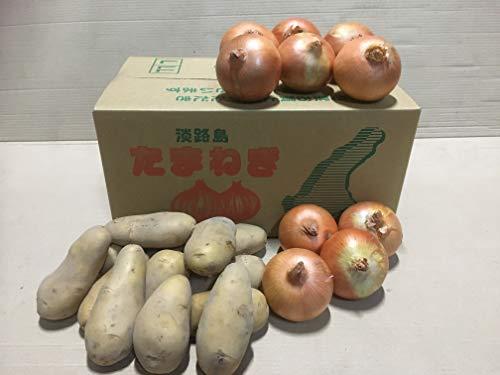 名手農園 淡路島産たまねぎ,じゃがいも(メークイン) 2021年産 詰合せ 5kg 販売中!