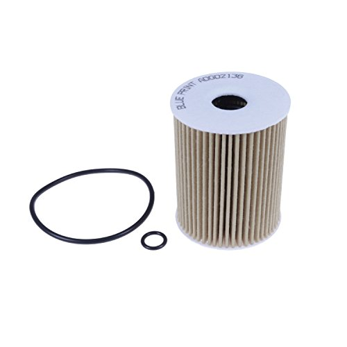 Blue Print ADG02136 oil filter with sealing rings and seal - Pack of 1