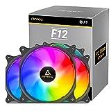 Antec 120mm Case Fan, RGB Case Fans, PC Fan, 4-PIN RGB, F12 Series