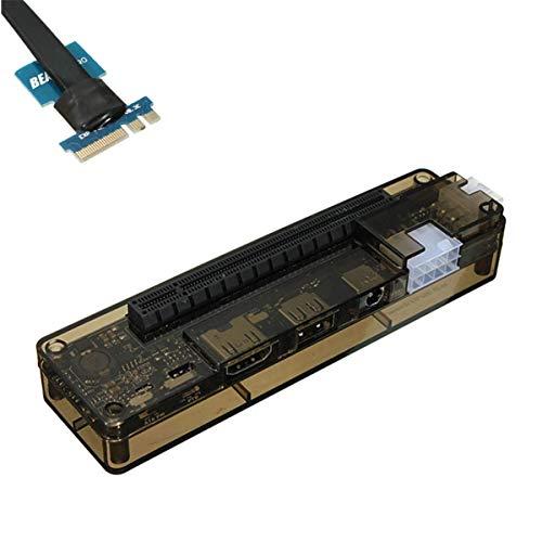 BINGFANG-W V8.0 EXP GDC Bestia portátil Tarjeta de Video Independiente Externa Dock NGFF NGFF PUBLOOK PCI-E Dispositivo de expansión Tabla de Control