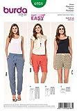 Burda B6938 Patron de Couture Pantalon 19 x 13 cm
