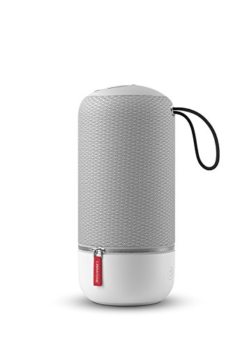 Libratone ZIPP MINI Wireless Lautsprecher (360° Sound, Wlan, Bluetooth, MultiRoom, Airplay 2, Spotify Connect, 10 Std. Akku) cloudy grey