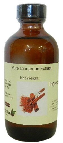 OliveNation Pure Cinnamon Extract - 8 ounces - Gluten-free, Sugar-free, Kosher - Premium Quality Flavoring Extract for Baking