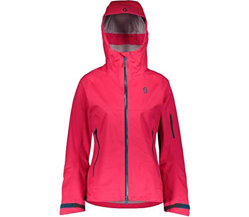 Scott W Explorair 3L Jacket Rot, Damen Dermizax™ Freizeitjacke, Größe S - Farbe Hibiscus Red