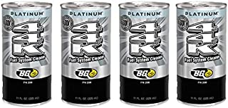 4 cans of New BG 44K Platinum