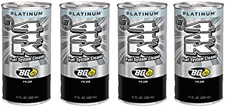 4 cans of New BG 44K Platinum