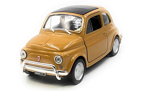 Onlineworld2013 modelauto Nuova 500 1957-1975 oldtimer willekeurige kleur! Auto schaal 1:34-39 (gelicentieerd)