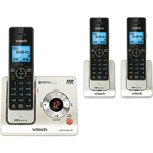 VTech LS6425-3 DECT 6.0 Expandable Cordless Phone with Answering...