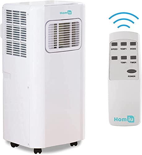 Unità di climatizzazione portatile 7000 BTU con telecomando, 3 in 1, timer 24 ore, 2 funzioni di velocità classe A, efficienza energetica, perfetta per case e grandi uffici (7000 BTU)
