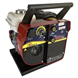 CANAWELD-MOSA Engine Driven Stick Welder MADE IN ITALY Portable Welding Machine DC ARC 150 Amp 110 Volt Outlet Light Weight 75 Pound 60% Duty Cycle Economizer Function and Power Optimizer