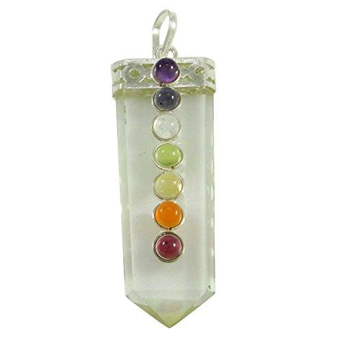 Harmonize Kristallklaren Quarz Anhänger Reiki Kristall 7 Chakra Balancing Therapie Spirituelle Geschenk Schmuck