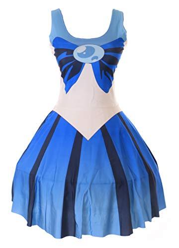 Kawaii-Story SK-00 Gr. S-M Sailor Moon Neptun blau Kleid Dress Cosplay Manga Japan Anime