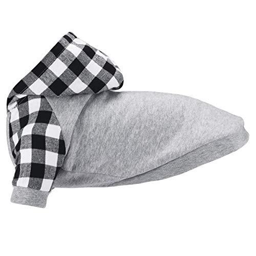 Dociote Hund Pullover Winter T-Shirt Hunde Kleidung Mantel mit Kapuze Katzenpullover Kapuzenpullis für kleine mittelgroße Hunde Welpen Katzen XXL