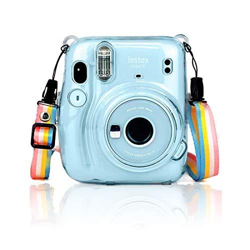 Funda para Cámara Instantánea Fujifilm Instax Mini 11, Funda Protectora Anticaídas y...