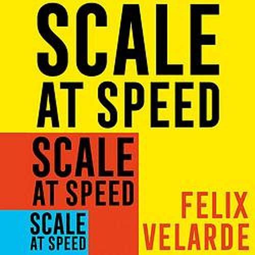 『Scale at Speed』のカバーアート