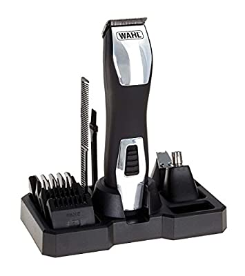 Wahl Beard Trimmer Men, Groomsman Pro 3-in-1 Hair Trimmers for Men, Nose Hair Trimmer for Men, Stubble Trimmer, Male Grooming Set, Washable Heads from Wahl