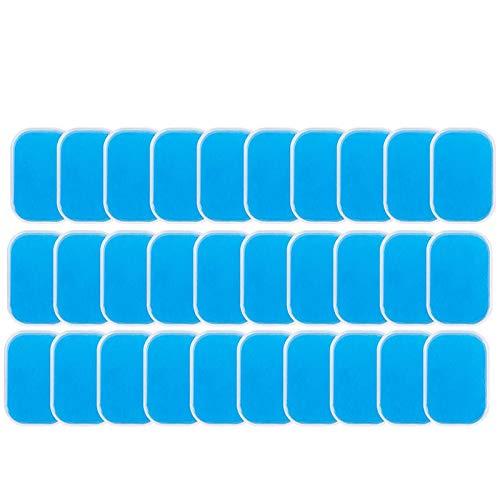 Yaootely 60PCS EMS Gel Pad, Elektroden Gel Ersatzpad, EMS Absorbent Gel Pad, Zubeh?R für Bauchmuskeltrainer