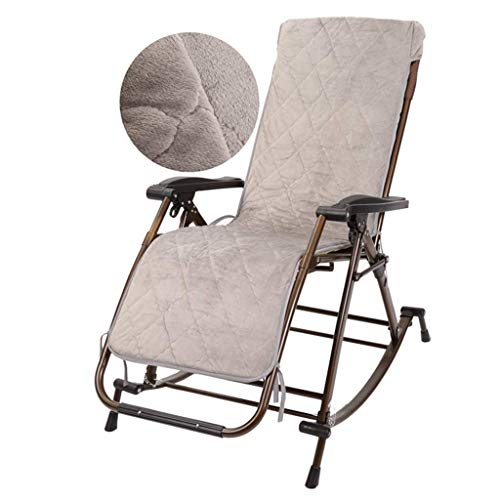 Convenient Garden Rocking Chairs Terrace Recreation Chair Foldable Deck Chair Garden Chairs Weightless Chair Beach Chairs Camping Pool