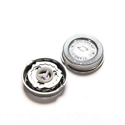 Turbobm 3 Piezas Cabeza de Afeitar de afeitadora de Repuesto para Philips, afeitadoras eléctricas de Afeitado para Hombres Accesorios de afeitadora