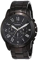 Fossil Grant Chronograph Analog Black Dial Men's Watch - FS4832,Fossil,FS4832