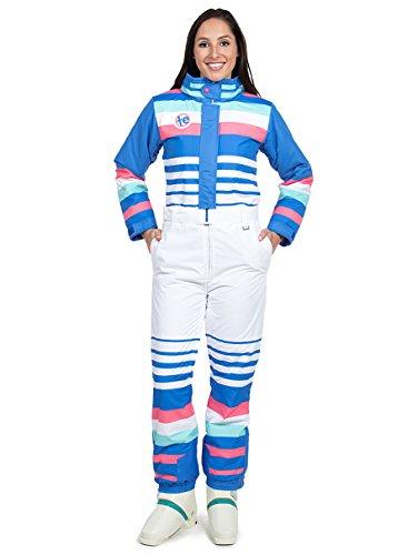Tipsy Elves Women's ICY U 80's Ski Suit - Female Retro Inspired Snowsuit