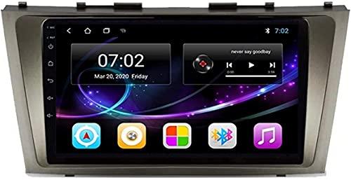 Android 10.0 Radio de navegación GPS compatible con Toyota Camry 6 2006-2011 Navegación GPS Unidad principal de 9 pulgadas Pantalla táctil Reproductor multimedia HD Video MP5 con Wifi DSP SWC MirrorL