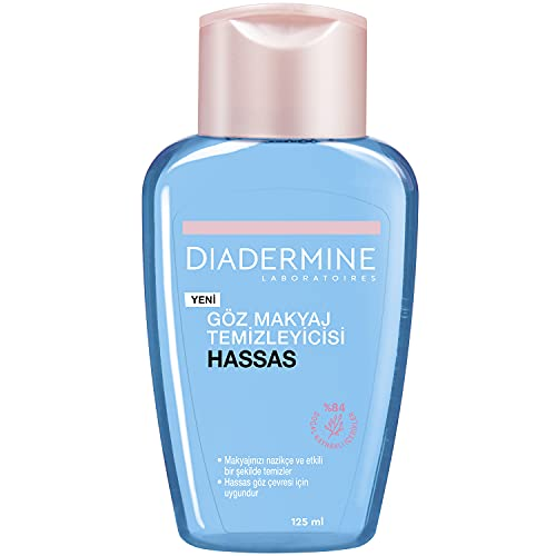 Diadermine - Desmaquillador de ojos, 2 uds de...