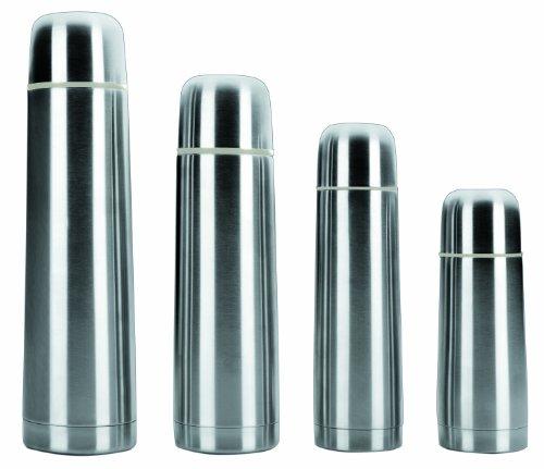 Ibili thermosfles met dubbele binnenwand roestvrij staal 18/10 met afneembare schroefdeksel 300 ml