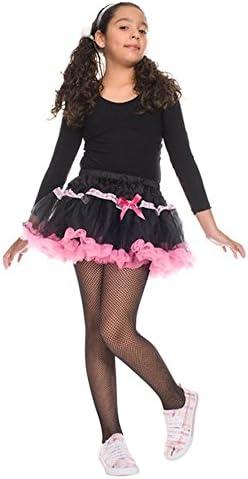 MUSIC LEGS Girls Fishnet Pantyhose Black Large product image