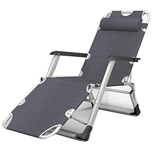 Faltbare Campingliege Liegestuhl,Rütteln Von Zero-Gravity-Recliner, Liegestühlen, Gaeden Relax-Stühle, Faltbare Außenregler Mit Maximaler Last 150Kg-3