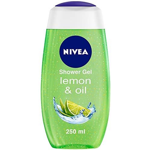 NIVEA Shower Gel, Lemon & Oil Body Wash, Women, 250ml