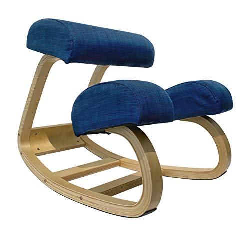 ZOE Silla ergonómica articulada postural de madera para oficina y casa