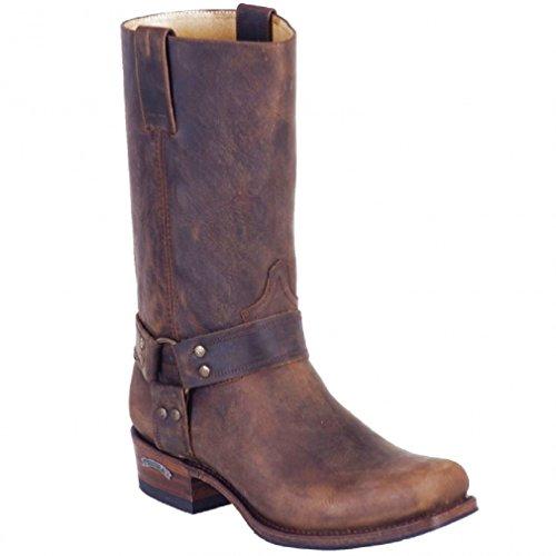 Sendra Boots 8833 braun Gr. 44 * incl. original Mosquito ® Stiefelknecht *