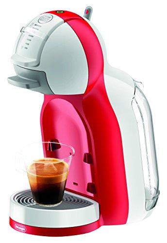 NESCAFÉ DOLCE GUSTO Mini Me White&Red EDG305.WR De'Longhi, Macchina per caffè espresso e altre bevande, Automatica