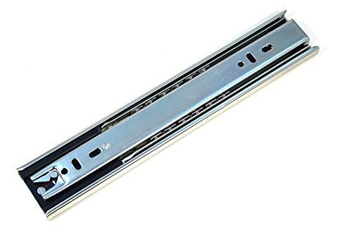 GTV Selbstverrieg Vollauszug Teleskopschiene Schubladenschiene Schubladenschienen 40-80cm