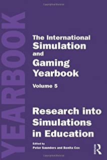International Simulation and Gaming Yearbook: Research into Simulations in Education