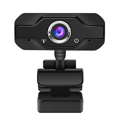 LUOXU Webcam Video, USB 2.0 720P HD Webcam con Microfono Interno E Fissata Lunghezza Focale Automatica del Bilanciamento del Bianco Supporto di Window
