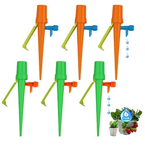 ZAWTR - Tröpfchenbewässerungsbausätze in Grün; Orange, Größe M