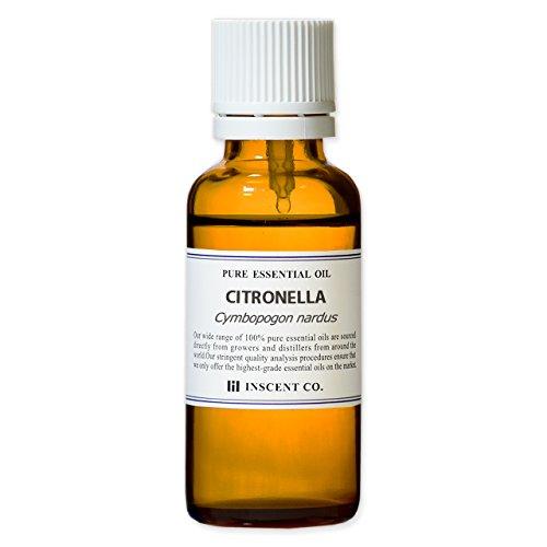 シトロネラ 30ml インセント エッセンシャルオイル 精油 アロマオイル
