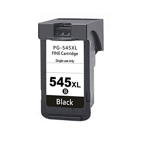 LIUYB Cartucho de Tinta PG545 CL546 REMANUFACTURADO PG 545 CL 546 XL for Canon PIXMA IP2850 MX495 MG2450 MG2550 MG2950 NS28 Impresora (Color : 1 Black)