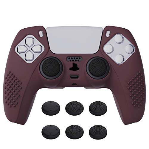 eXtremeRate PlayVital Funda de Silicona para PS5 Protector Tacto Suave Carcasa Ergonómica...